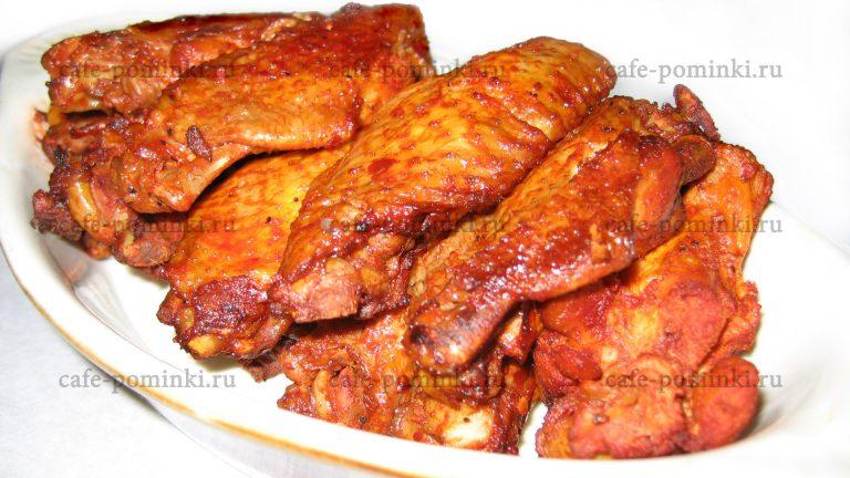 жареная курица поминки